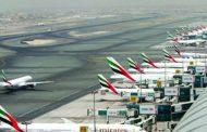 تأجيل رحلات الإقلاع في مطار دبي للاشتباه في نشاط طائرات مسيرة