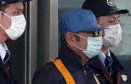 لحظة خروج غصن من السجن في طوكيو